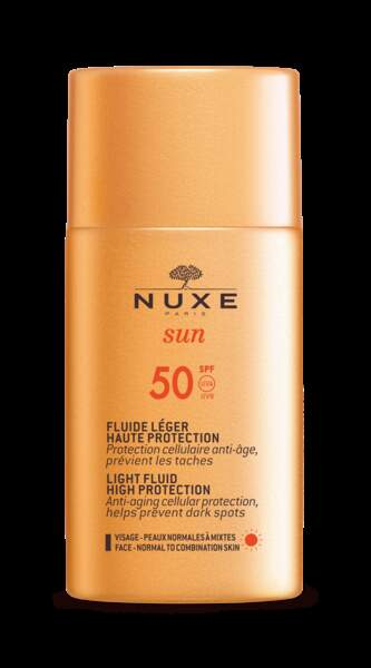 Fluide Léger Haute Protection SPF50, Nuxe, 20,20€
