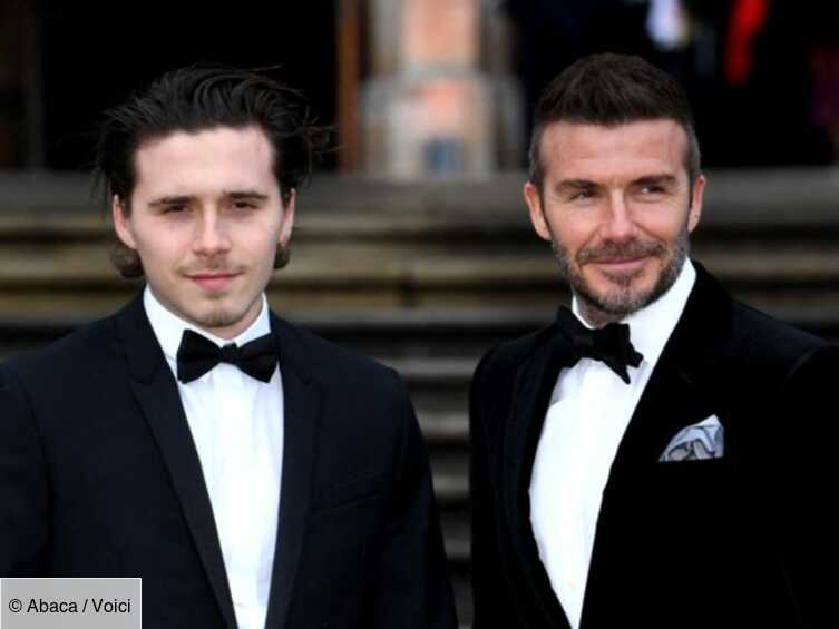 PHOTO Brooklyn Beckham fiancé à sa petite amie Nicola Peltz, David et Victoria Beckham ont donné leur accord - Voici