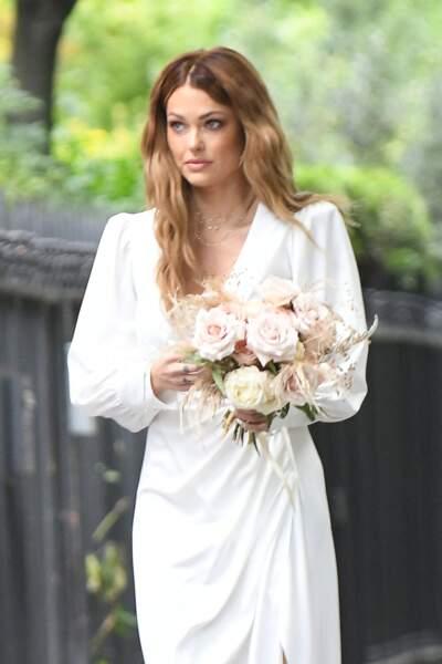 Caroline Receveur s'est mariée avec Hugo Philip