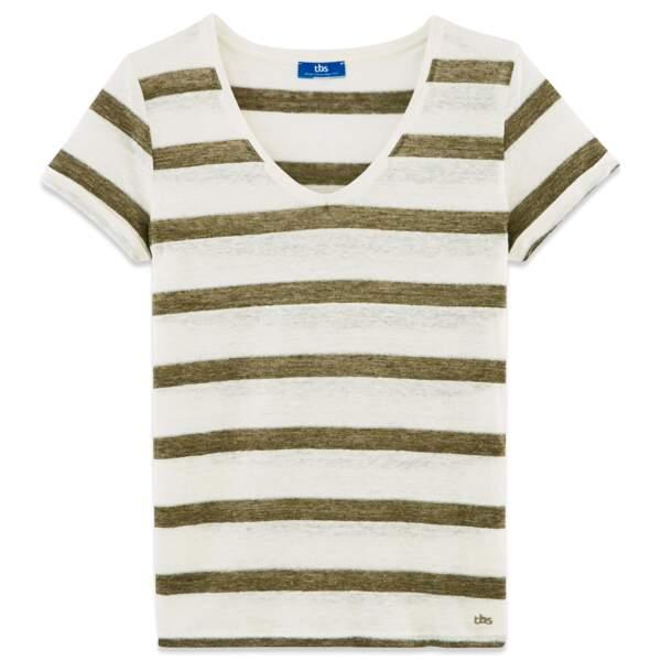Tee-shirt. 44,90 €, TBS.