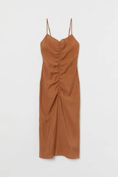Robe en lyocell mélangé, H&M, 17,99€