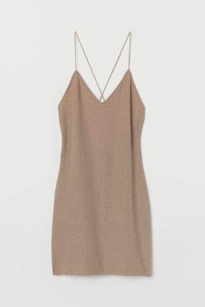 Robe moulante scintillante, H&M, 6,99€