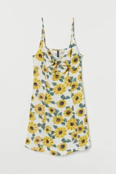 Robe imprimé fleuri, H&M 7,99€