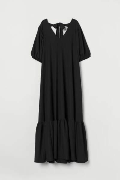 Robe ample avec liens à nouer, H&M, 17,99€