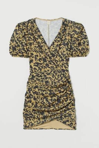 Robe à manches bouffantes, H&M, 17,99€