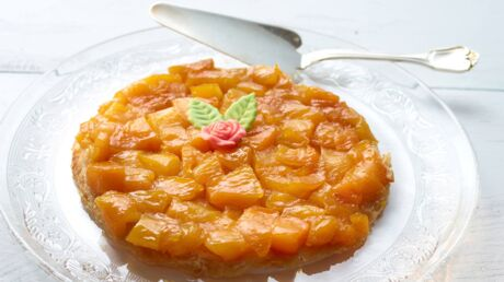 Fan de tarte tatin ? Voici sa déclinaison estivale, version mangue !