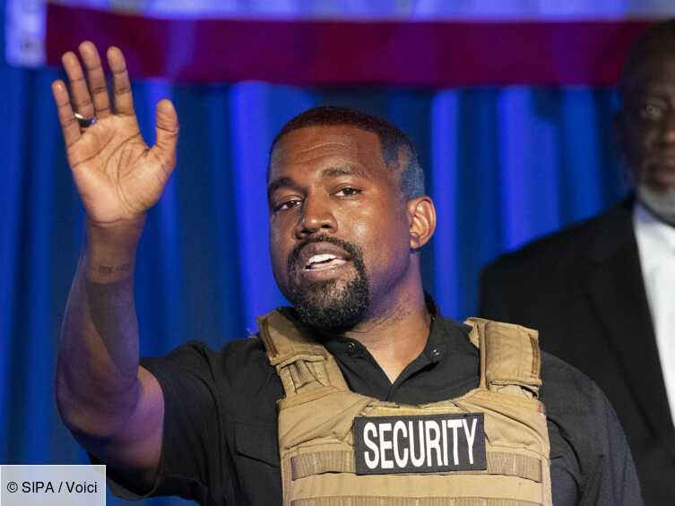Kanye West candidat à la présidence des Etats-Unis : une bien étrange colistière nommée - Voici