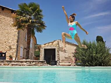 VOICI Laury Thilleman en maillot de bain : les clichés les plus canons de Miss France 2011