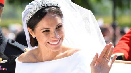 On connaît le secret de la manucure de Meghan Markle qu'elle arborait à son mariage!