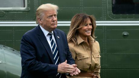 Donald Trump en deuil: Melania Trump rejette son mari devant les caméras