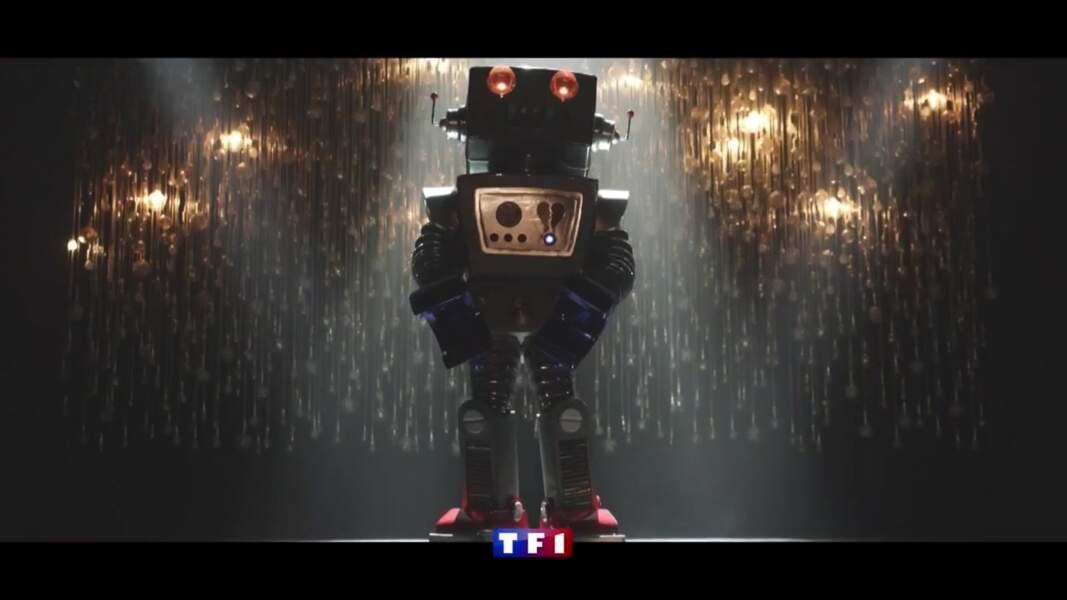 Qui se cache sous le robot ?