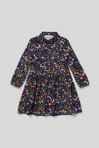 Robe au motif fleuri, C&A, 14,99€