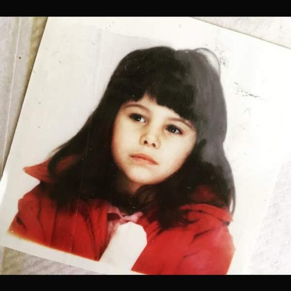Les stars enfants : Karine Ferri