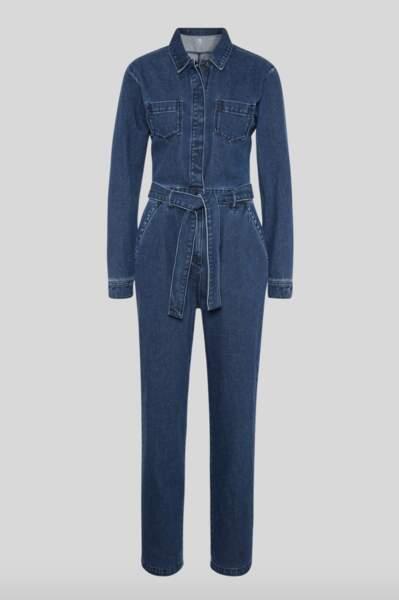 Combinaison en jean matière recyclée, C&A, 39,99€