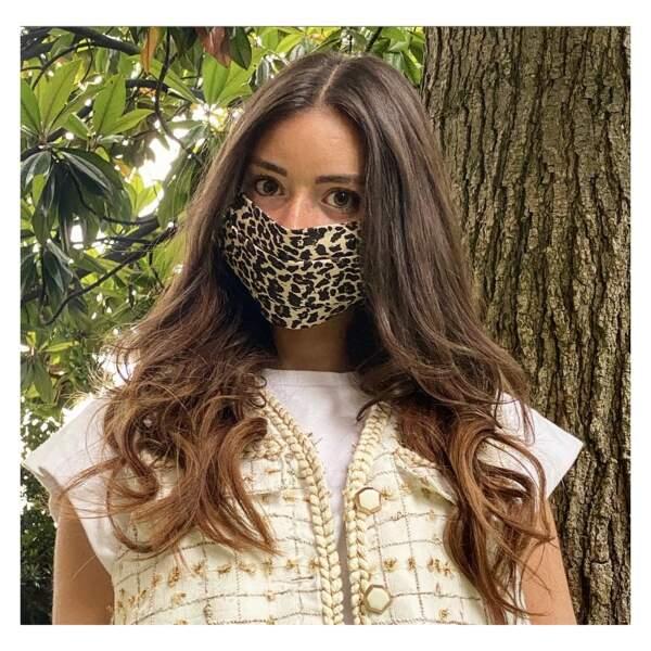 Masque imprimé léopard, Le Beau Masque, actuellement à 7,90€