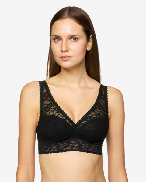 Bralette en dentelle stretch, Benetton, 25,95€