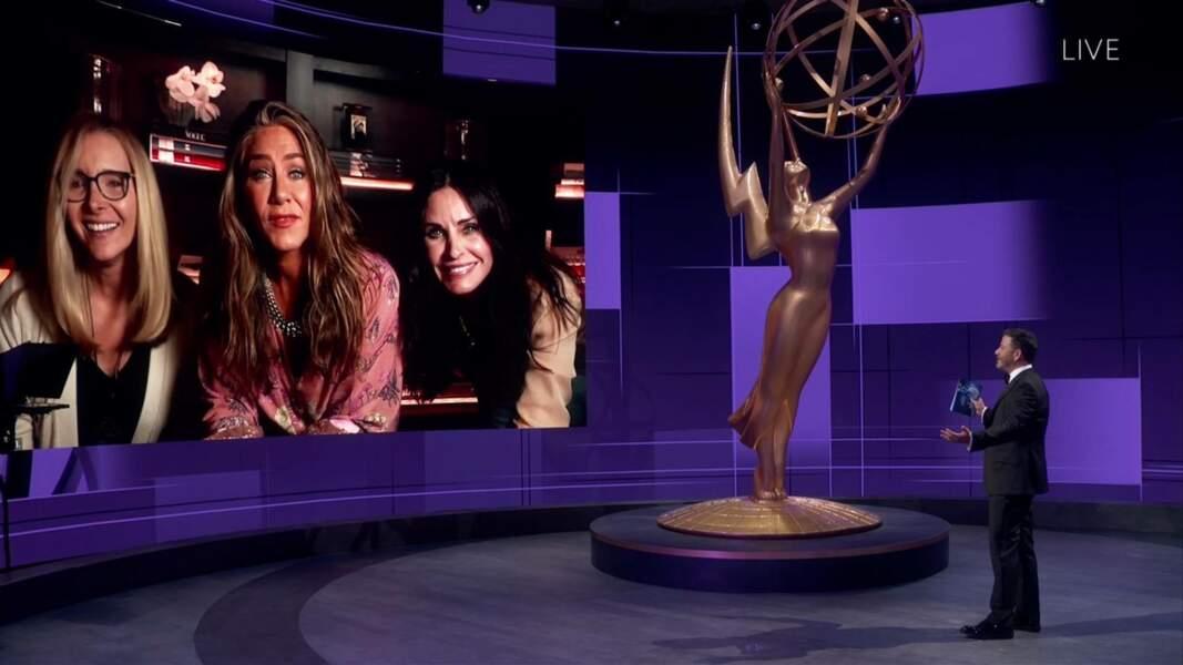 Jennifer Aniston, Courteney Cox et Lisa Kudrow réunies