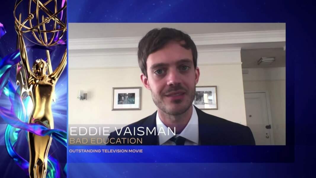 Eddie Vaisman pour Bad Education sacré meilleur téléfilm
