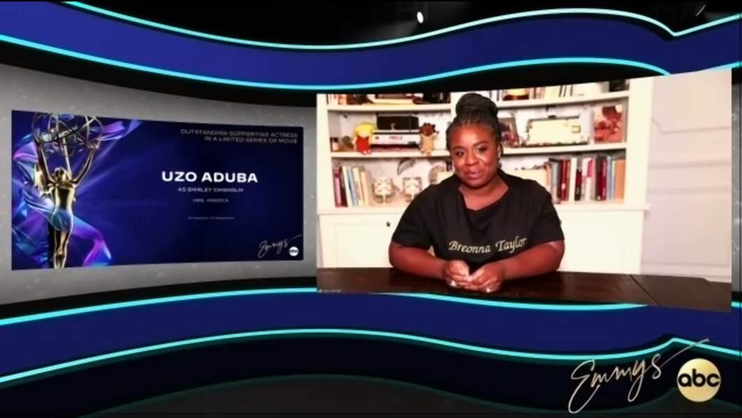 Uzo Aduba, meilleure actrice dans un second rôle pour Mrs. America