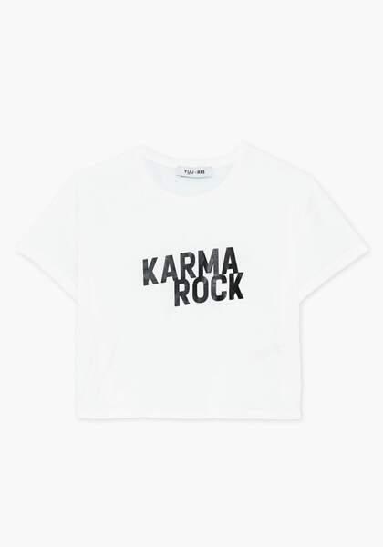 Tee-shirt de yoga Karma Rock, YUJ x IKKS, 55€