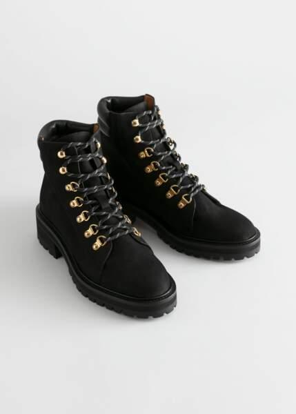Boots rangers, &Other Stories, actuellement à 89€