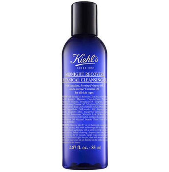 Midnight Recovery Botanical Cleansing Oil, Kiehl's, 14€ les 85ml