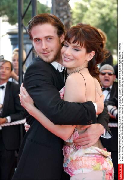 Sandra Bullock et Ryan Gosling en 2002