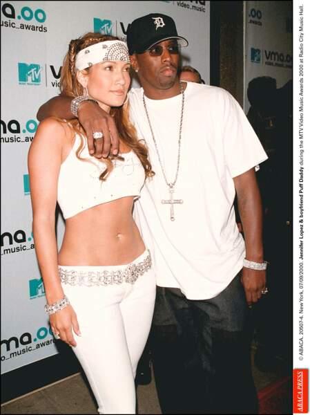 Jennifer Lopez et P.Diddy en 1999