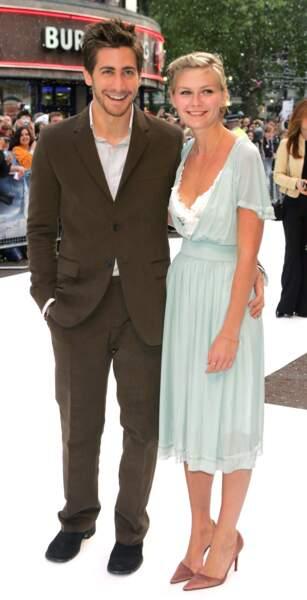 Kirsten Dunst et Jake Gyllenhaal en 2003