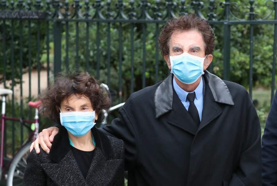 Jack Lang et sa femme Monique