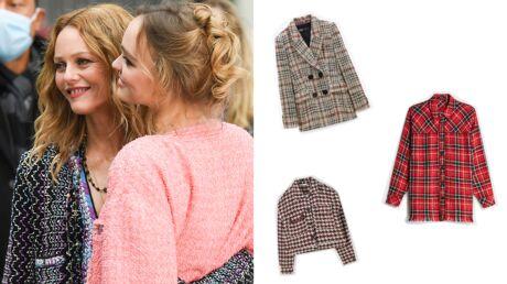 Comme Vanessa Paradis et Lily-Rose Depp, on craque pour la veste en tweed!