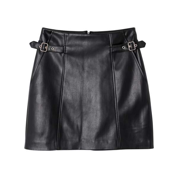 Jupe en simili cuir, La Redoute Collections, 24,99€