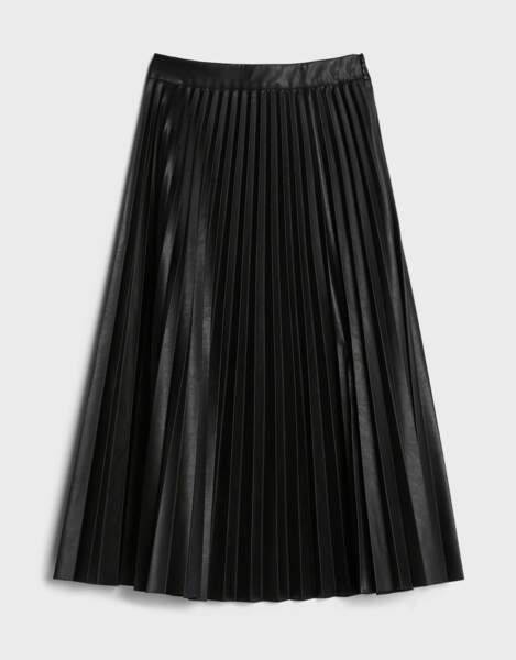 Jupe plissée, Bershka, 35,99€