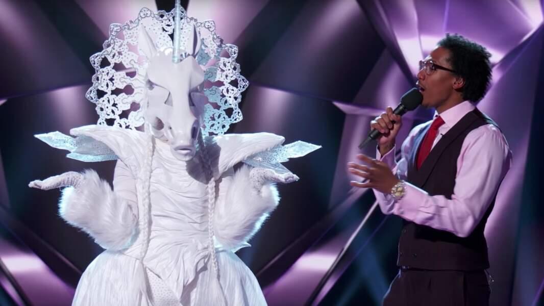 La licorne de The Masked Singer était...