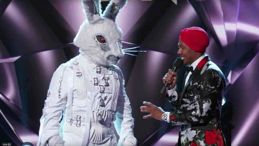 Le lapin de The Masked Singer était...