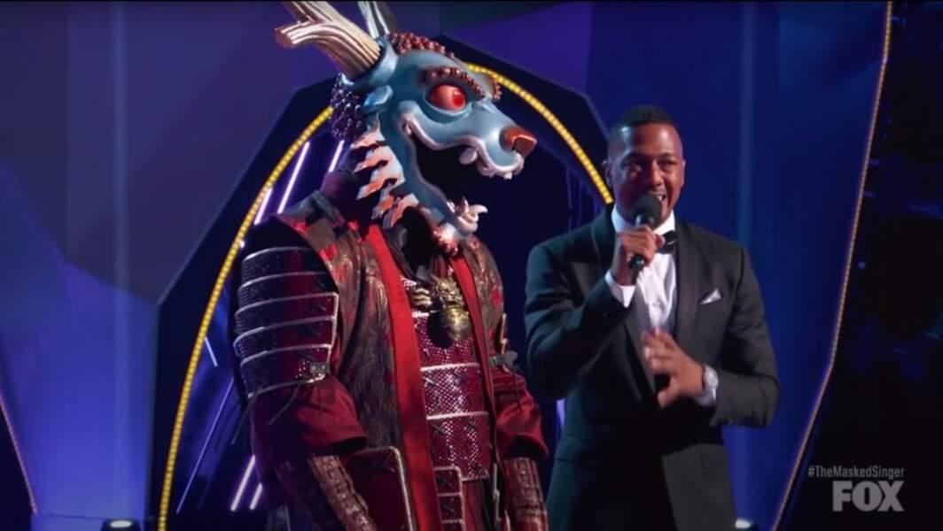 Le dragon de The Masked Singer était...
