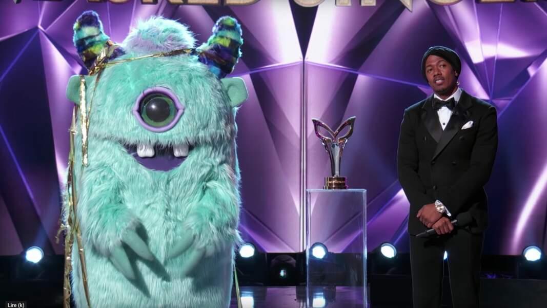Le monstre de The Masked Singer était...