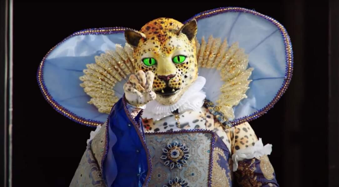 Le léopard de The Masked Singer était...