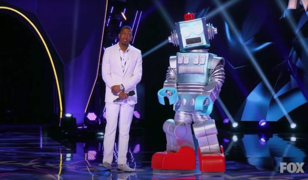 Le robot de The Masked Singer était...
