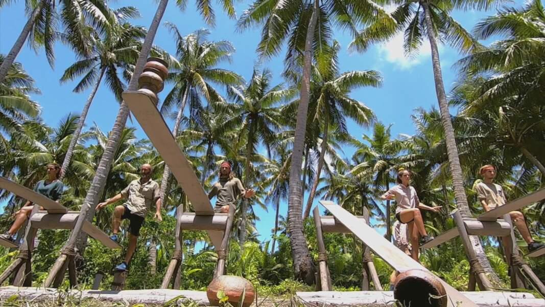 Koh-Lanta, les 4 Terres - épisode 9 : l'épreuve de confort