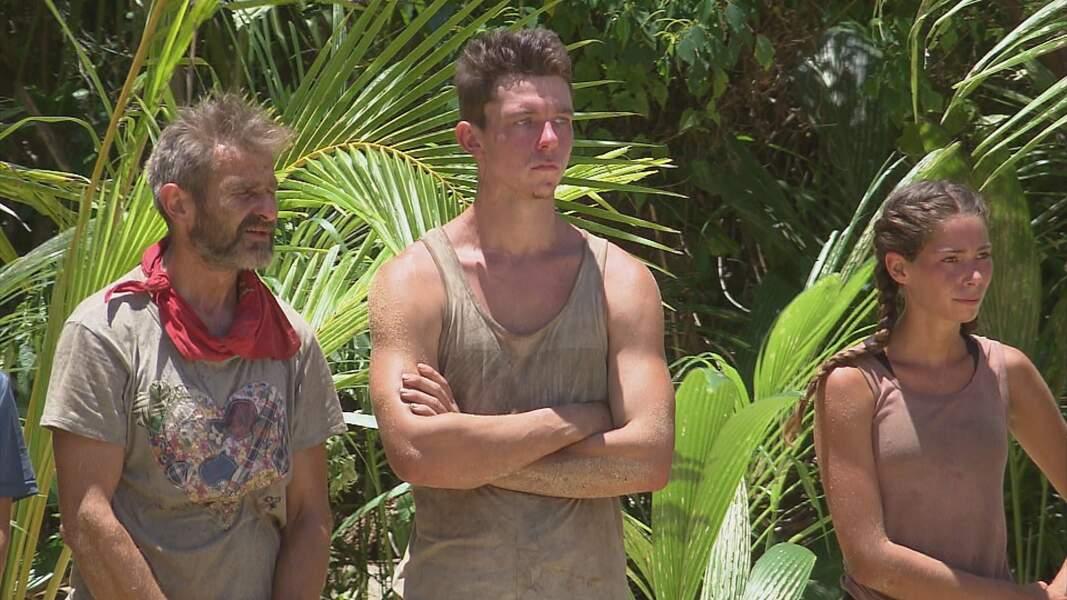 Koh-Lanta, les 4 Terres - épisode 9 : Fabrice, Loïc et Lola