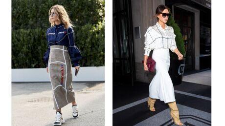 Quelles chaussures porter avec une jupe ou une robe longue?