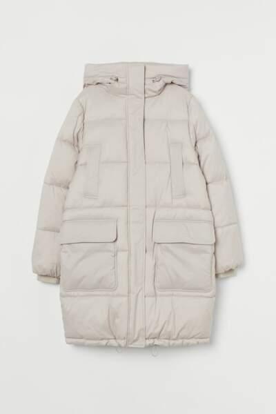 Veste à capuche matelassée, H&M, 59,99€