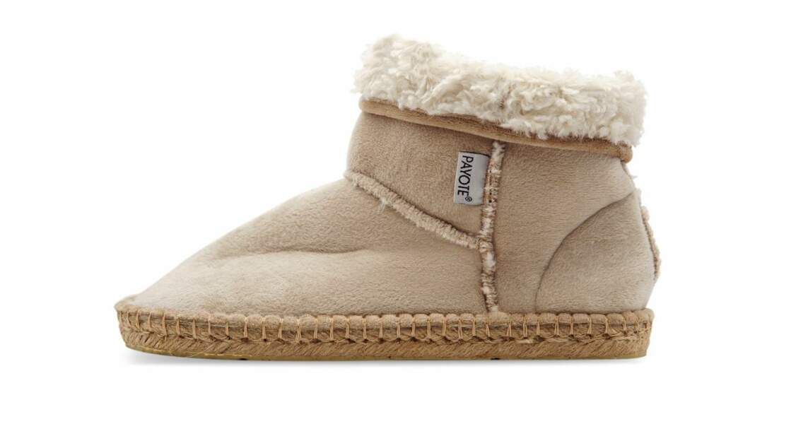 Chaussons montants Charlotte, Payote, 55€