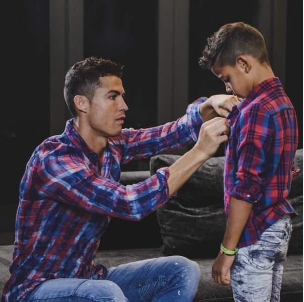 Cristiano Ronaldo et Cristiano Junior