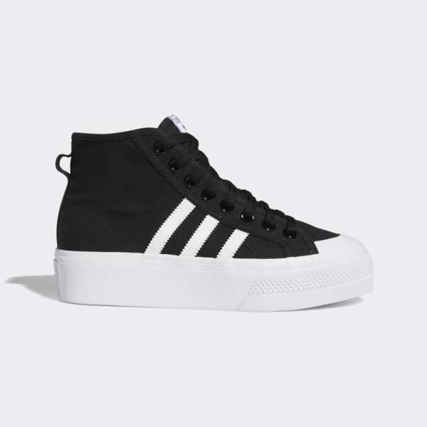 Baskets Nizza plateforme, Adidas Originals, 75€