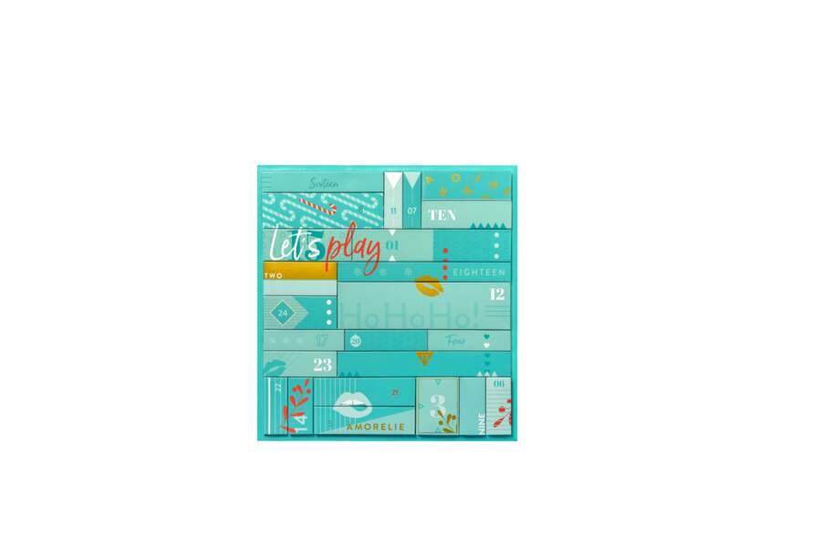 Calendrier de l'Avent L'Original, Amorelie, 119,90€ pour une valeur réelle de 477€
