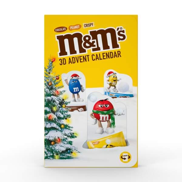 Calendrier de l'avent M&M's, 11,60 €