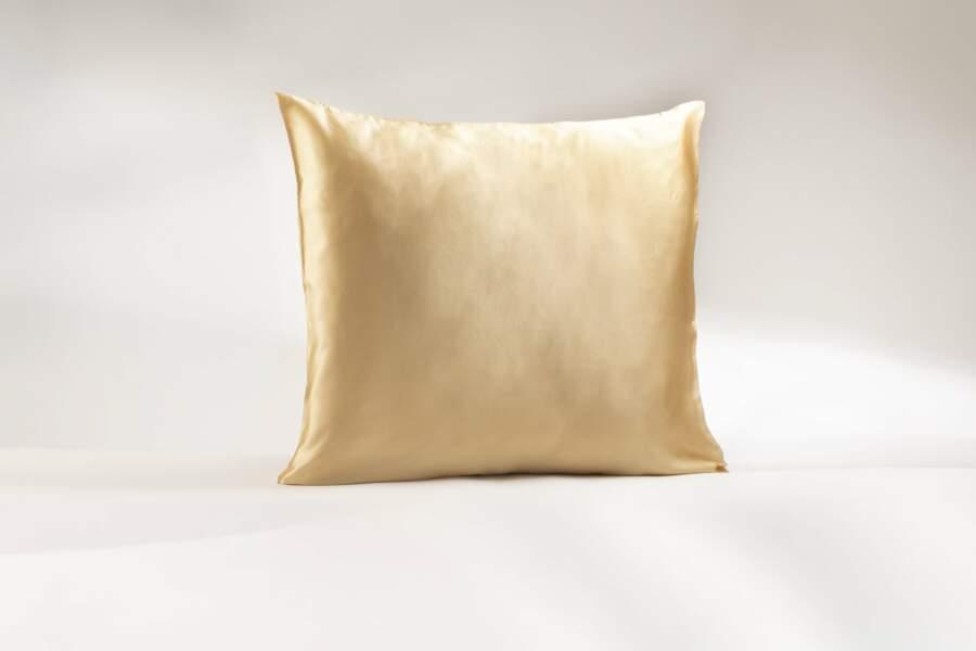 Taie d'oreiller en soie, Roll On Jade, actuellement à 62,90€