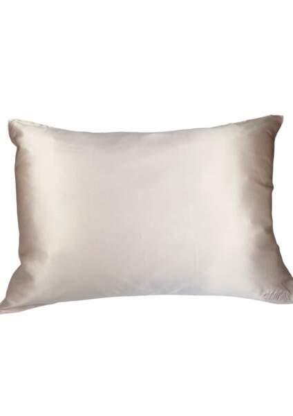 Taie d'oreiller rectangle en soie, Chillsilk, 49€